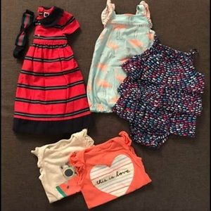 12-18 Month Summer Baby Girl Lot